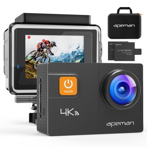 APEMAN Action Camera 4K 20MP WiFi Ultra HD