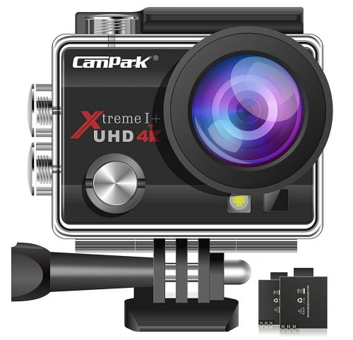 Campark ACT74 Action Camera 16MP 4K WiFi Underwater Photography Cameras 170 Degree Ultra Wide Angle Lens