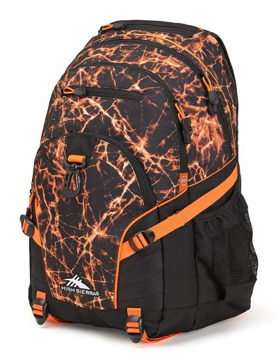 High Sierra Loop Backpack, Fireball/Black/Electric Orange-Backpack Coolers