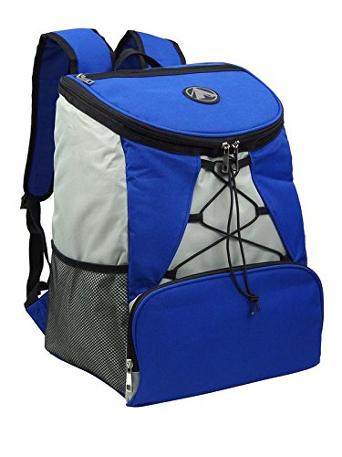 Large Padded Backpack Cooler - Fully Insulated