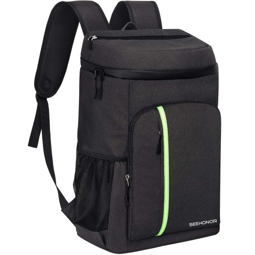 SEEHONOR Insulated Cooler Backpack Leakproof Soft Cooler Bag Lightweight Backpack