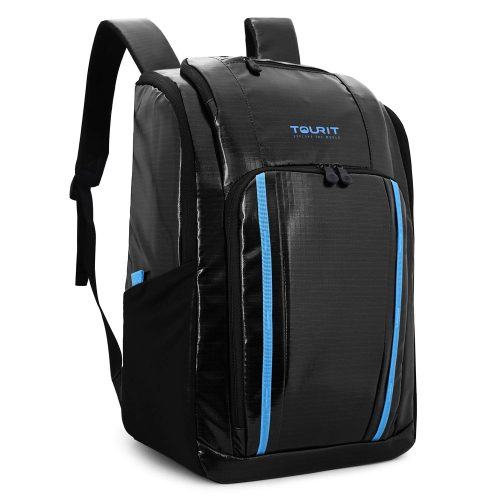 TOURIT Cooler Backpack Insulated Leakproof Backpack Cooler Soft Cooler with Waterproof TPU Material for Lunch, Picnic