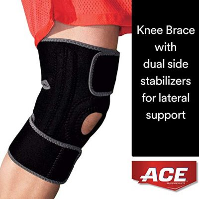 ACE Brand Knee Brace with Dual Side Stabilizers