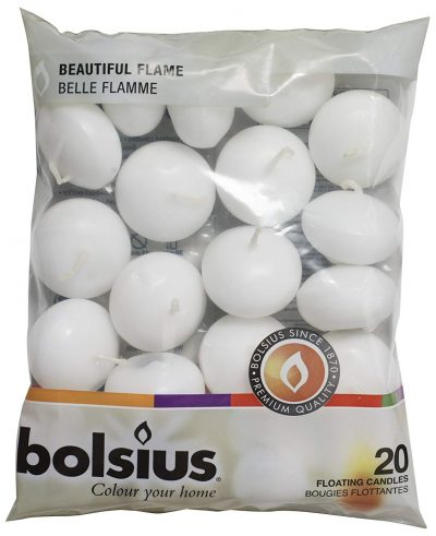 BOLSIUS Unscented Floating Candles-Floating Candles