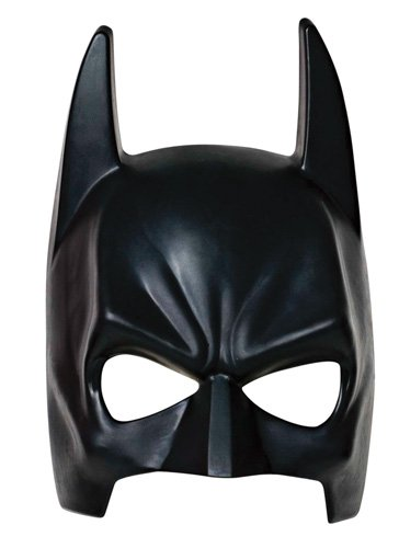 Batman Tm Injection Molded Mask Adult-Batman Masks