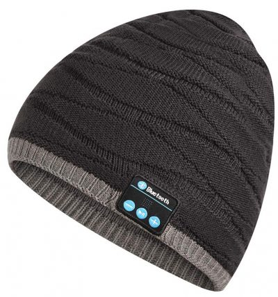 Bluetooth Beanie Music Hat,V4.2 Wireless Winter Knit Headphone HD Stereo Speaker Smart Cap