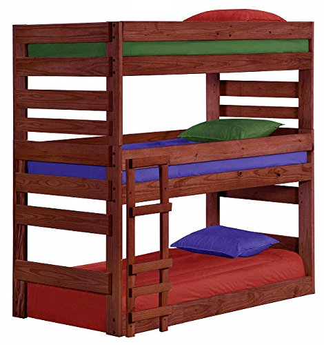 Cass County Extra Long Triple Bunk Bed