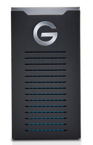 G-Technology 500GB G-DRIVE mobile SSD Durable Portable External Storage