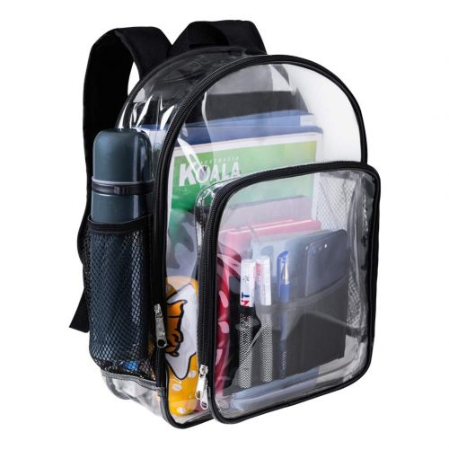 Heavy Duty Clear Backpack Clear Bookbags Durable See Through Backpacks