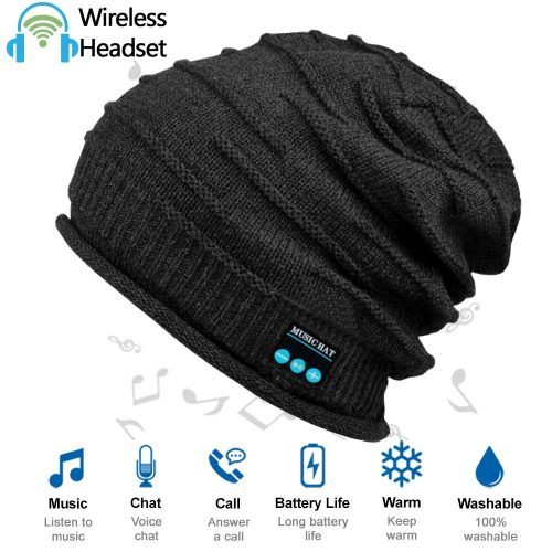 HighTechLife Upgraded Wireless Bluetooth Beanie Hat Headphones V4.2 Unique Christmas Tech Gifts