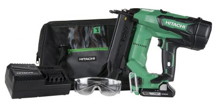 Hitachi NT1850DE 18V Cordless Brad Nailer, Brushless Motor-Electric Nail Guns