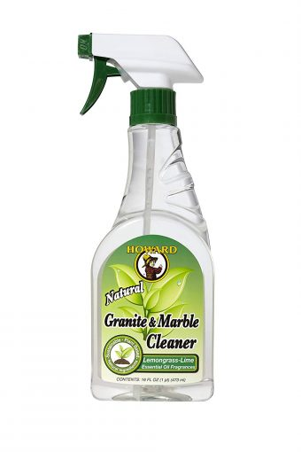 Howard GM5012 Natural Granite and Marble Cleaner, 16-Ounce