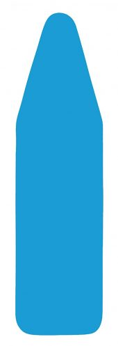 Italian Made 15 x 54 Inch Ironing Board Padded Cover