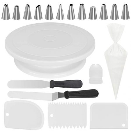 Kootek All-In-One Cake Decorating Kit Supplies