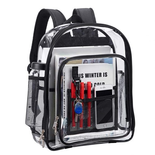 Magicbags Heavy Duty Clear Backpack