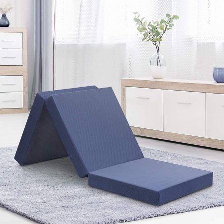Olee Sleep 4 inch Tri-Folding Memory Foam Topper