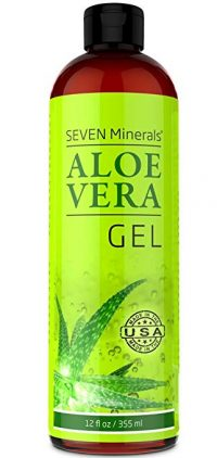 Organic Aloe Vera Gel with 100% Pure Aloe from FRESHLY CUT Aloe Plant-Aloe Vera Gels