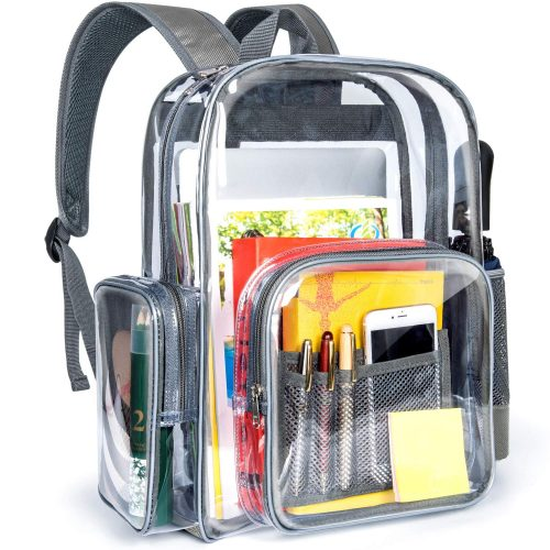 Packism Clear Backpack, Heavy Duty Clear Backpack for Adults