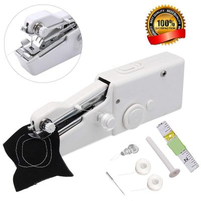 Portable Sewing Machine,Mini Handheld Sewing Machine MSDADA Electric Stitch Household Tool