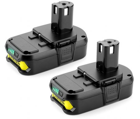 Powilling 2Pack 2500mAh Ryobi 18V Lithium Battery Pack Replacement