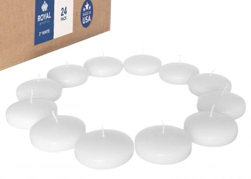Royal Imports Floating Candles Unscented Discs for Wedding