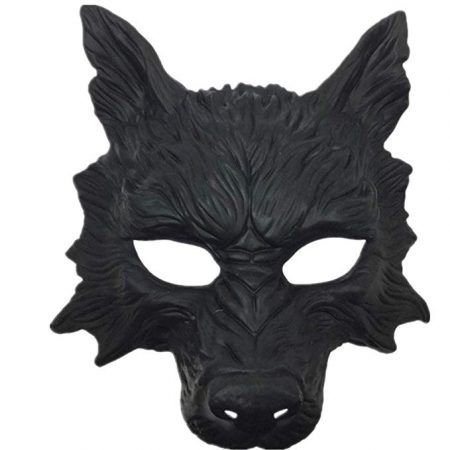 Storm Buy] Wolf Mask Steampunk Style Scary Horror Devil Wolf Animal Masquerade Halloween Costume Cosplay Party mask