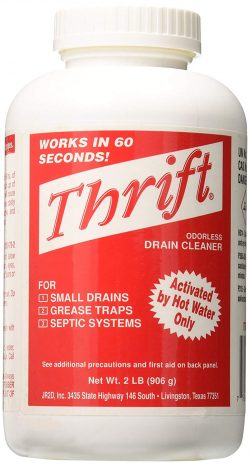 Thrift Marketing GIDDS-TY-0400879 Drain Cleaner 2 lb-Drain Cleaners