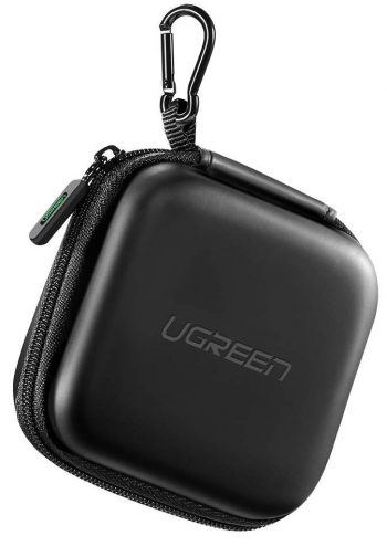 UGREEN Earbud Case Earphone Carrying Case Holder Storage Bag Headphone Mini Pouch Compatible-Headphone Cases