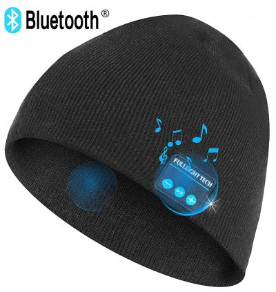 Upgraded V4.2 Bluetooth Beanie Hat Headphones Wireless Headset Winter Music Speaker Hat