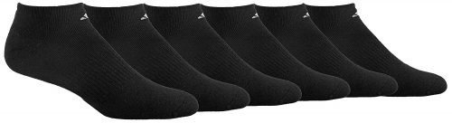 adidas Men's Cushioned Athletic No Show Socks