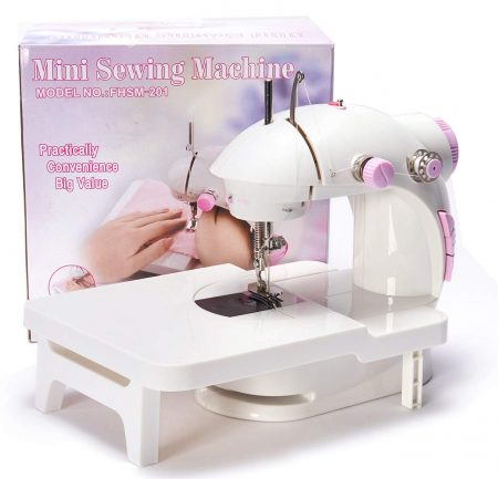 dilib Mini Sewing Machine with Extension Table