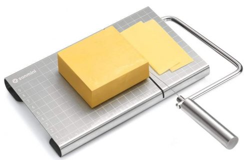 zanmini Cheese Slicer, Stainless Steel Cheese Cutter