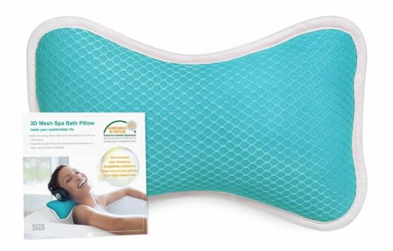 Home Bath Pillows with Suction Cups