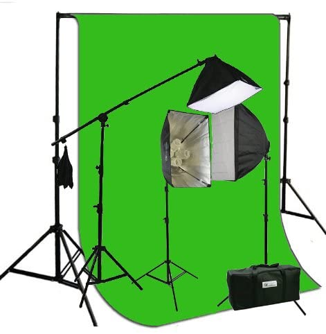 EPhoto's Lighting and Green Screen Kit