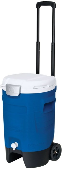 Igloo Portable Water and Beverage Cooler with Wheels