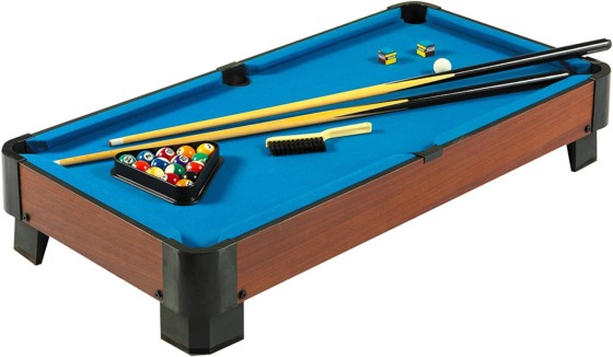 Hathaway 40 in. Sharp Shooter Table Top Billiard Table-Best Mini Pool Tables