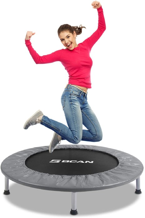 "BCAN 38"" Foldable Mini Trampoline"