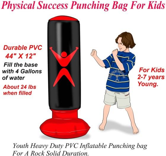 Physical Success Partners Kids Punching Bag