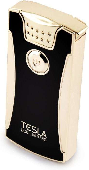#3Tesla Coil Lighters™ USB Rechargeable Windproof Dual Arc Lighter