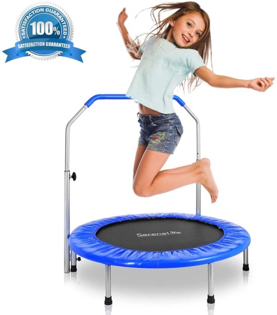 SereneLife Portable & Foldable Trampoline