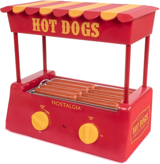 Nostalgia Hot Dog Warmer
