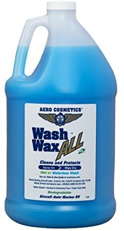 Wet or Waterless Car Wash Wax