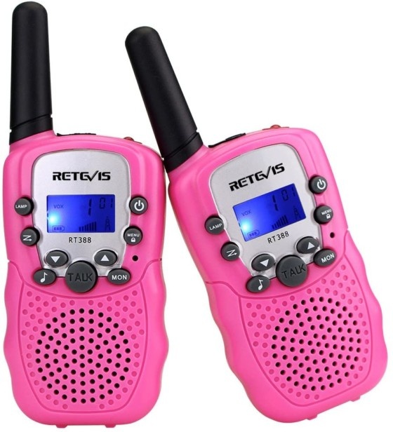 Retevis RT-388 Kids Walkie Talkies For 4 To 12 Years Old Girls