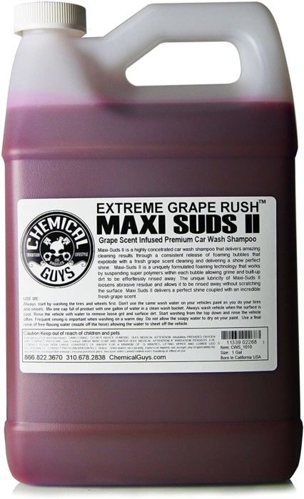 Chemical Guys CWS_1010 Maxi-Suds II Super Suds Car Wash Soap