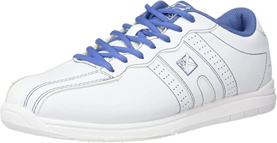 KR Strikeforce Womens O.P.P Bowling Shoes- White/Periwinkle
