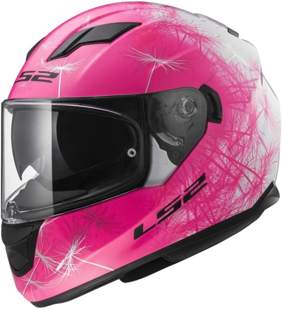 LS2 Women Motorcycle Helmet Full Face Stream