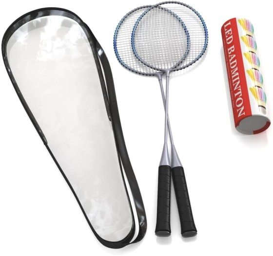 The Badminton Racket Comes With A Trained Premium Quality