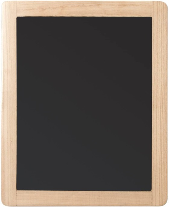 Plaid Store Double Sided Chalkboard