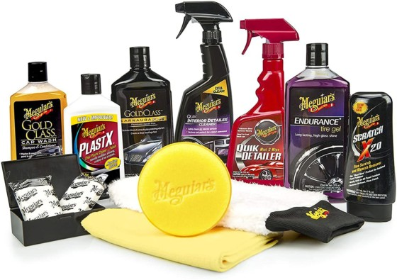 MEGUIAR'S G55032SP Complete Car Wash Soap Care Kit