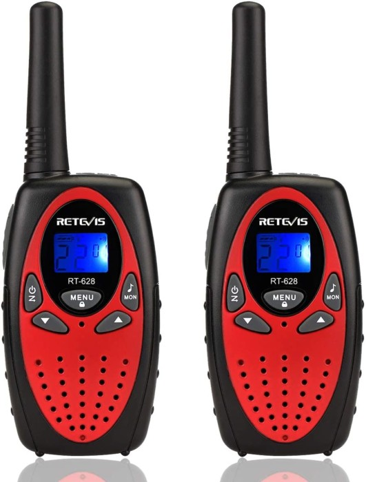 Retevis RT628, 22 Channel Kids Walkies Talkies For Camping, Hiking